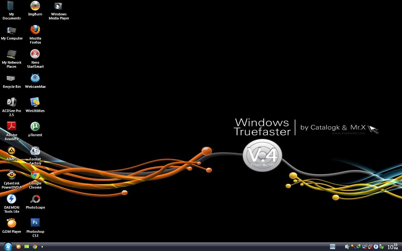 Windows XP SP3 Truefaster Edition V.4 สุดยอดความเร็ว ลื่น ช่างทั่วประเทศการันตีว่าดีที่สุด!!