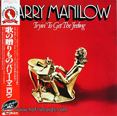 Barry Manilow - Tryin' To Get The Feeling 1975 1lp