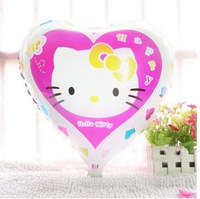 ลายการ์ตูน Hello Kitty ทรงหัวใจ(แพ็ค10ใบ) / Item No.TL-A036