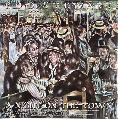Rod Stewart - A Night On The Town 1976 1lp
