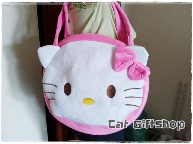 พร้อมส่ง :: กระเป๋าสะพาย Hello Kitty 2 ซิป