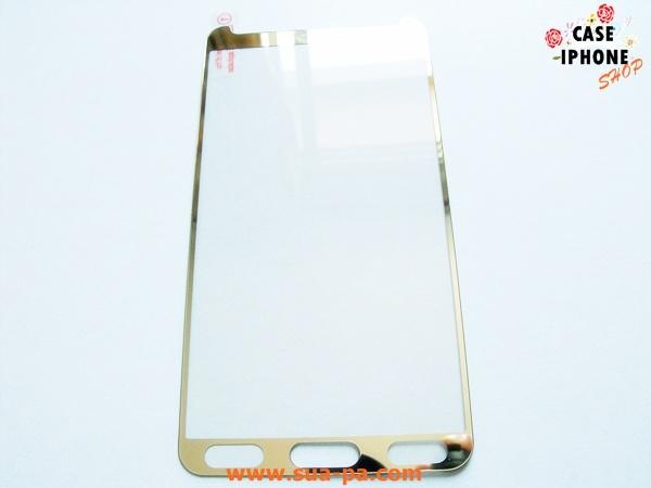 ฟิล์มกระจก Samsung galaxy Note 3 ขอบสี หน้า 1 แผ่น