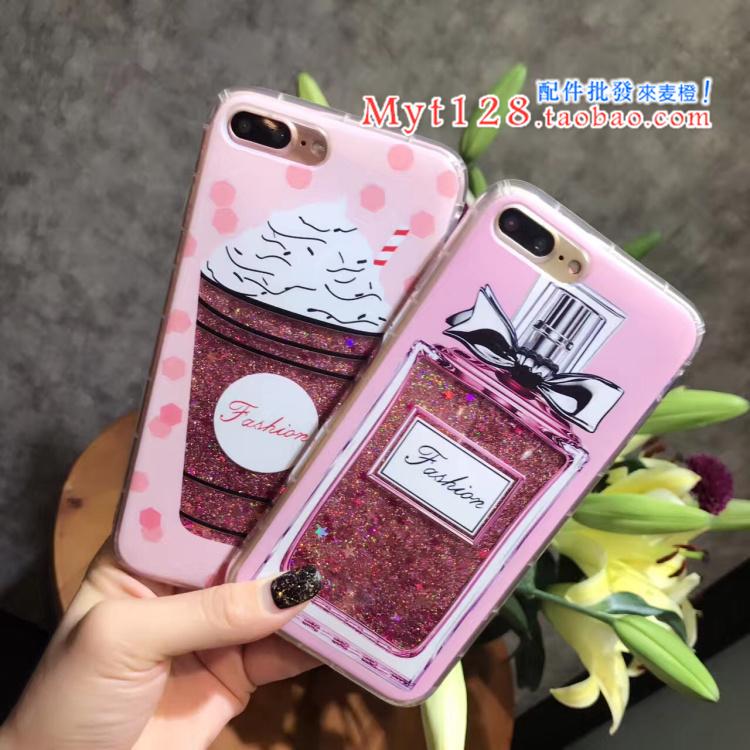 Case iPhone 7 Plus (5.5 นิ้ว) พลาสติกกากเพชรลายน่ารักมากๆ ราคาถูก