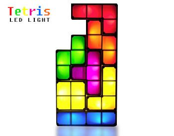 (พร้อมส่ง) โคมไฟตัวต่อ Tetris LED Light