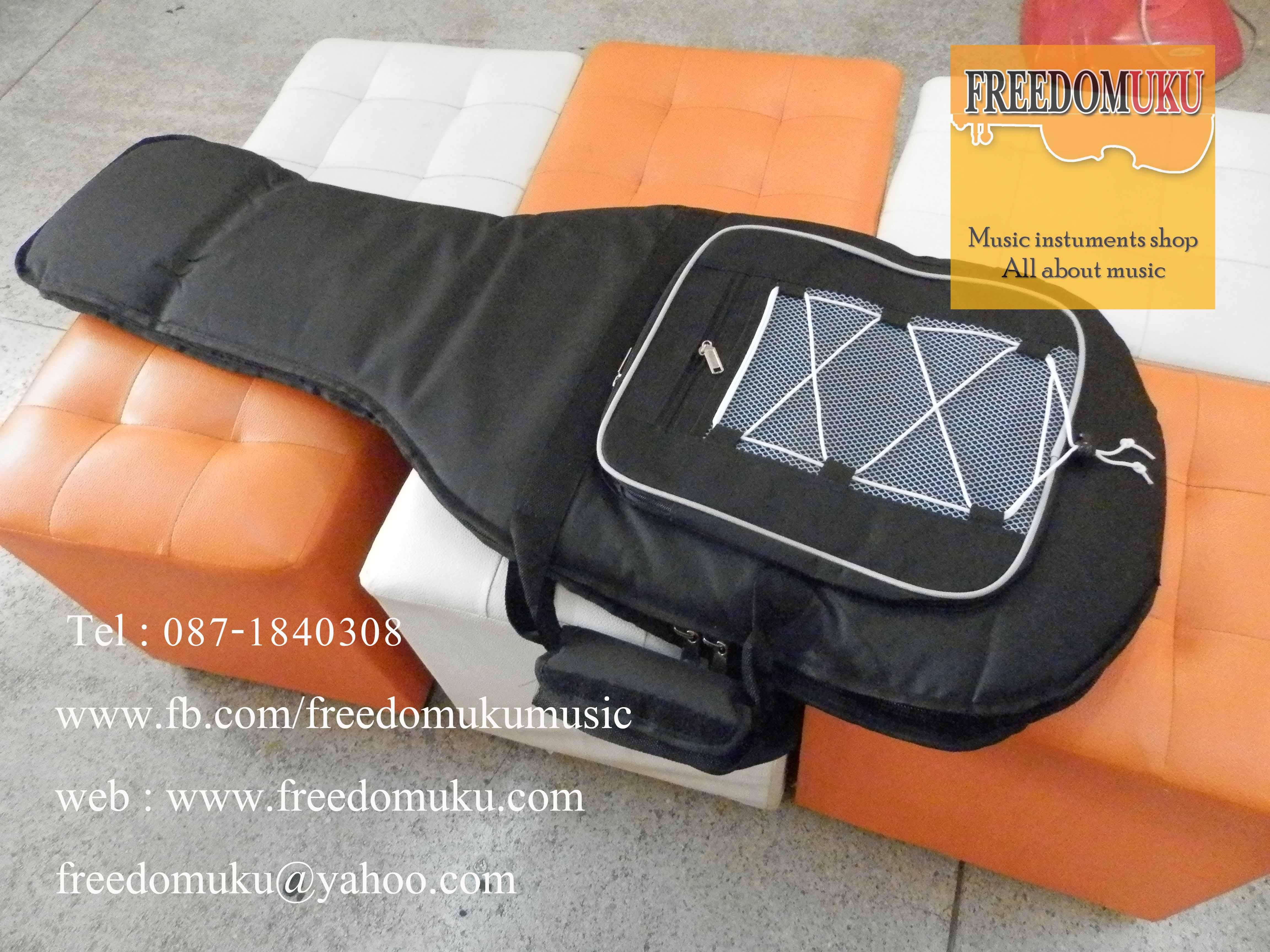 กระเป๋ากีตาร์ไฟฟ้า Soft Case ผ้าบุฟองน้ำหนา