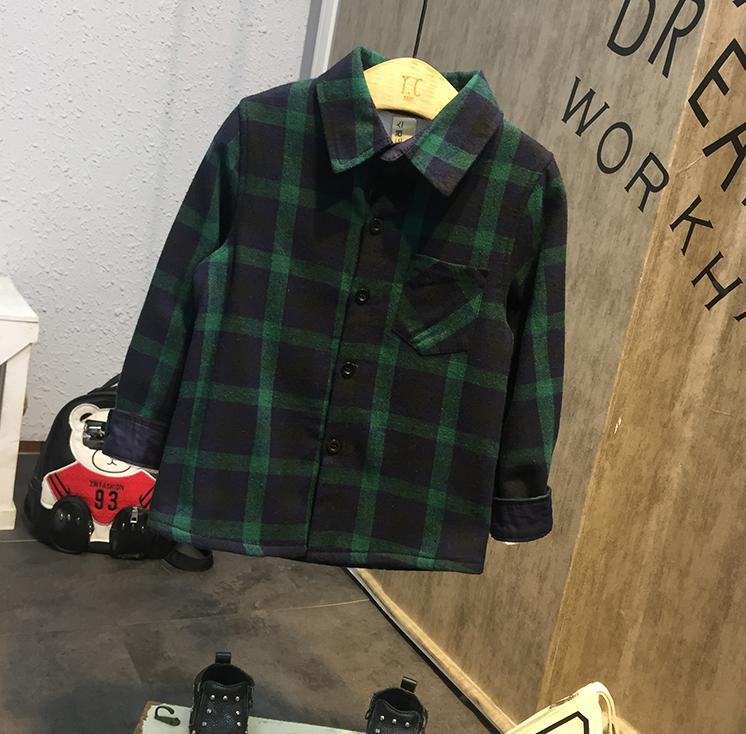 เสื้อ (ด้านในมีขน) สีเขียว แพ็ค 5 ชุด ไซส์ 7-9-11-13-15