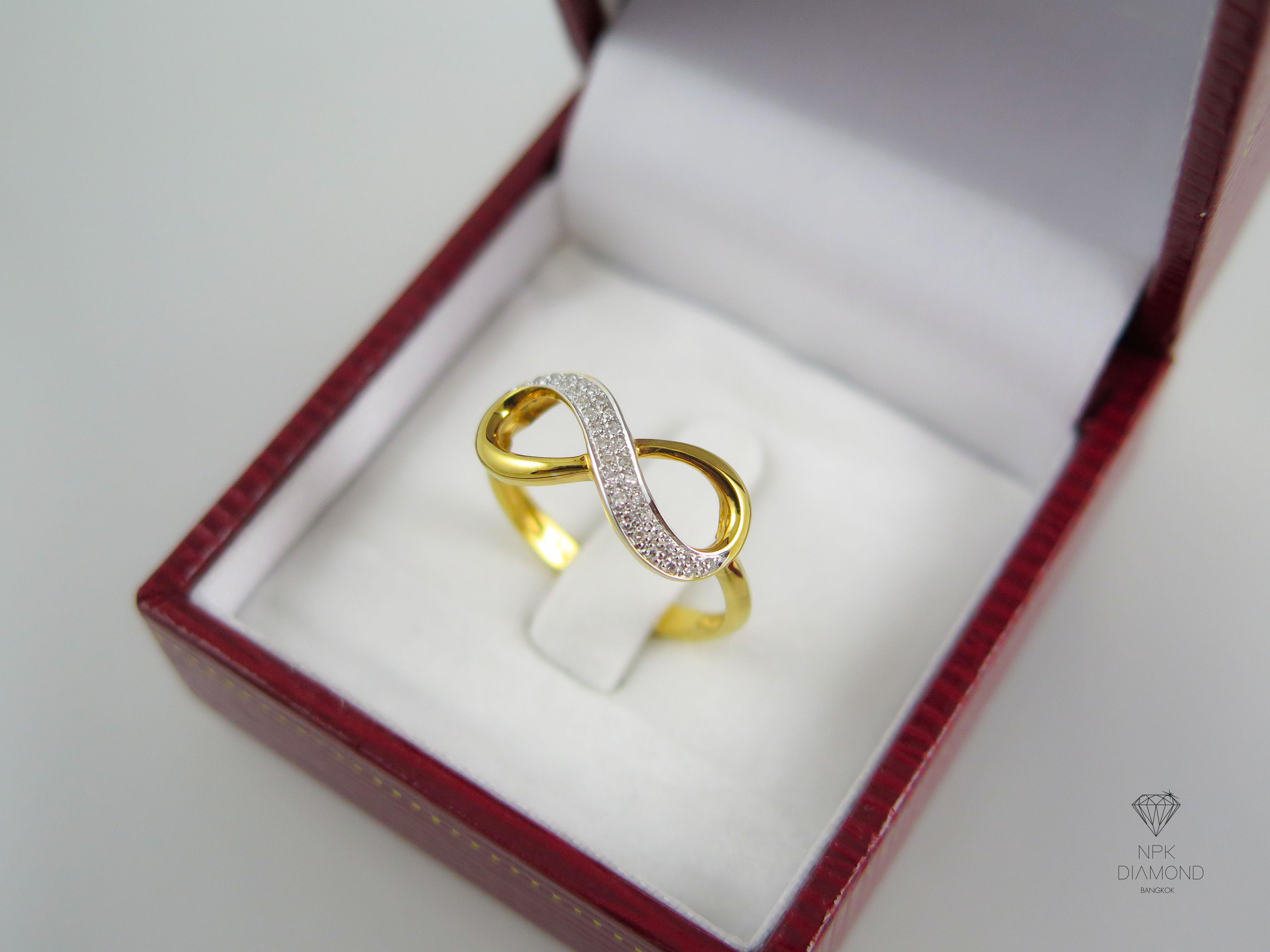 แหวนเพชร Infinity