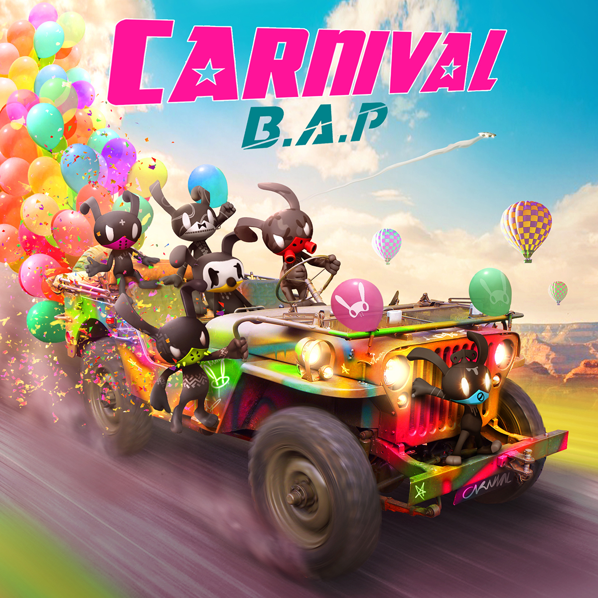 B.A.P - Mini Album Vol.5 [CARNIVAL]