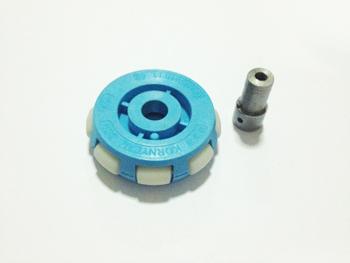 ล้อ OMNI สีฟ้า แบบ 1 ชั้น (ไม่รวมบู๊ชล้อ)