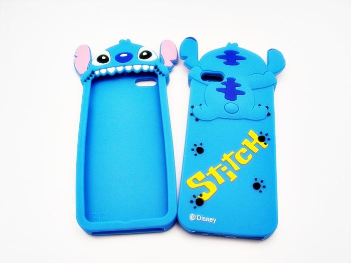 เคสซิลิโคน 3D Stitch งาบ ไอโฟน 4/4s