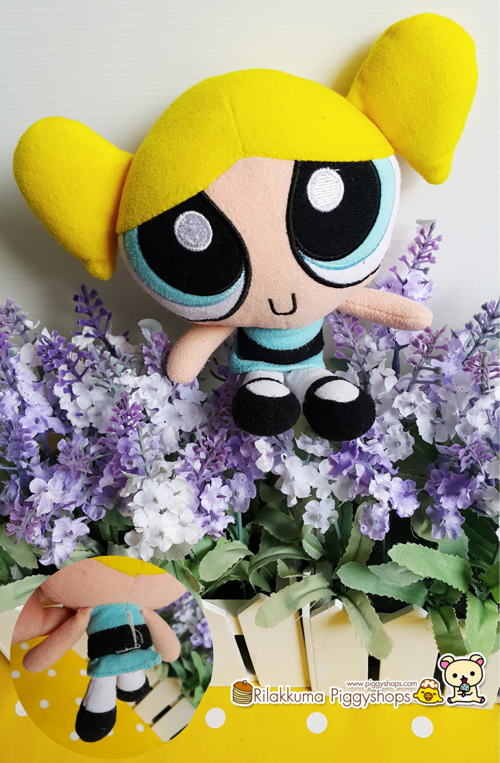 ตุ๊กตาบับเบิลส์เดอะพาวเวอร์พัฟเกิร์ล (Bubble - The powerpuff girl) size about 7