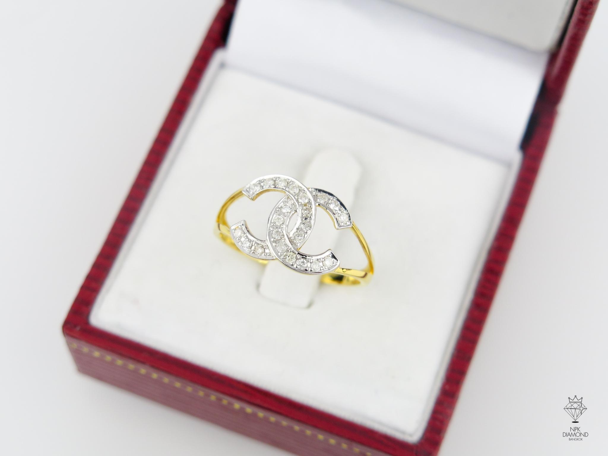 แหวนเพชร Chanel