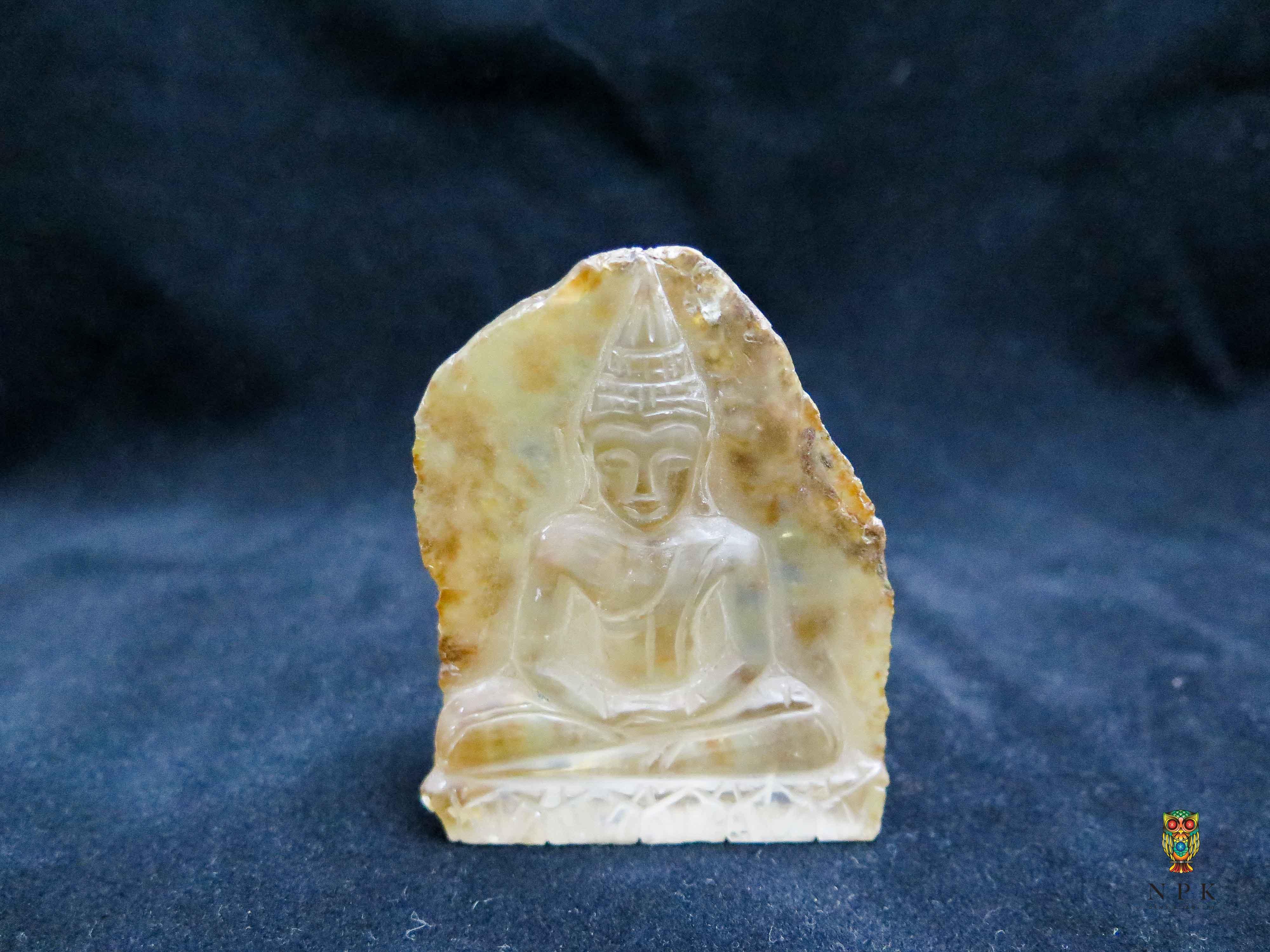 พระพุทธรูปแกะสลักควอตซ์ (Buddha Quartz Craving )