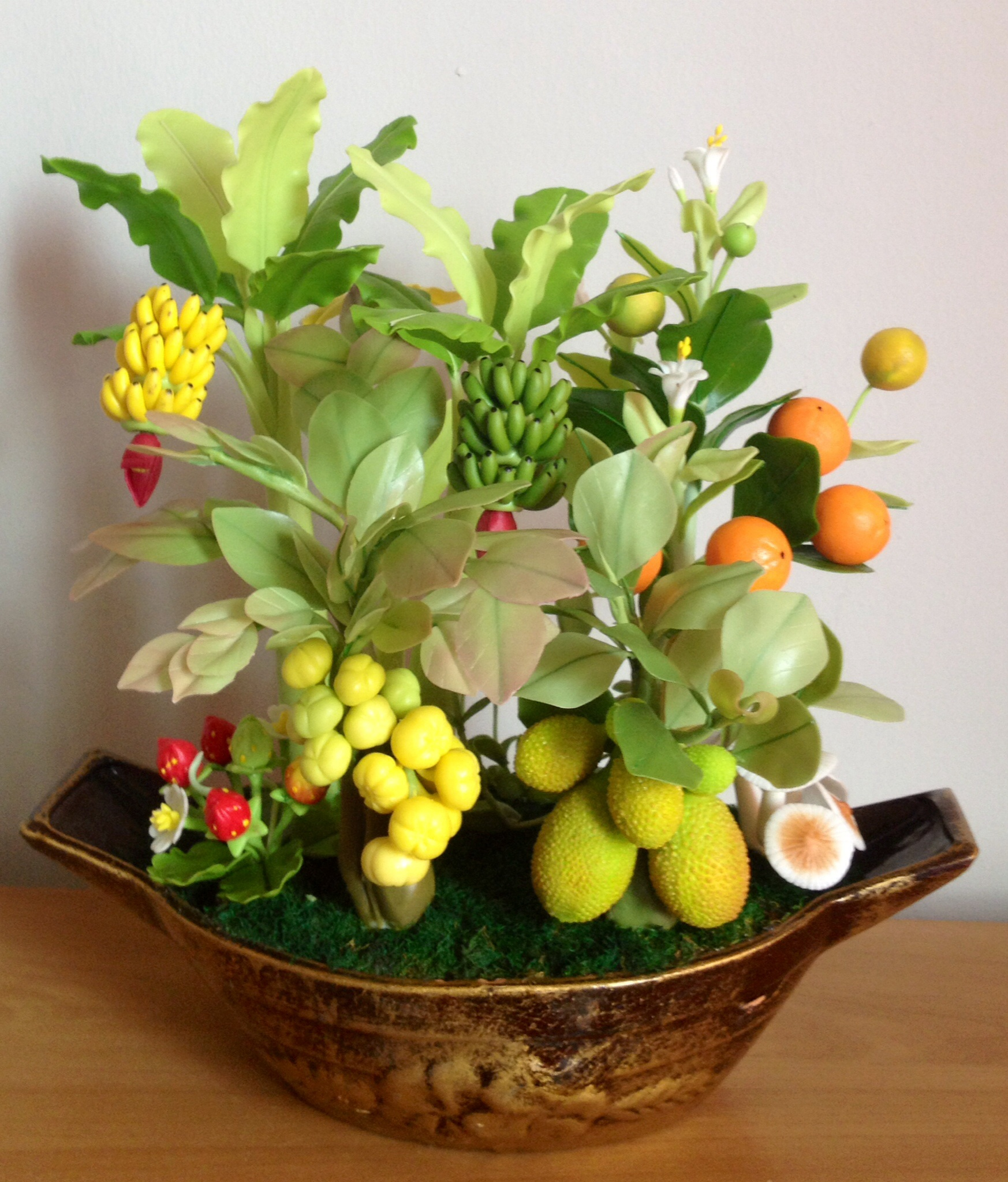 C008-สวนต้นไม้มงคล มะยม ส้ม ขนุน กล้วย_ไซร์ 4-6 นิ้ว