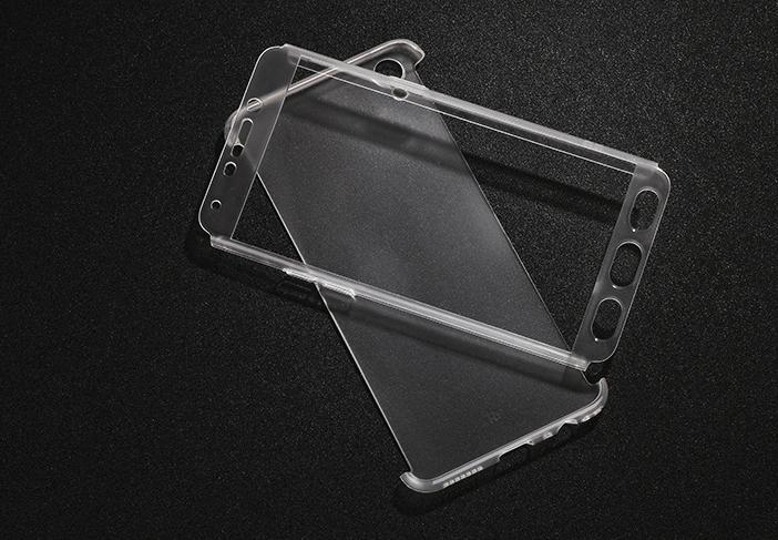 เคส OPPO F1 Plus พลาสติก PC โปร่งใสแบบประกบหน้า-หลัง ราคาถูก