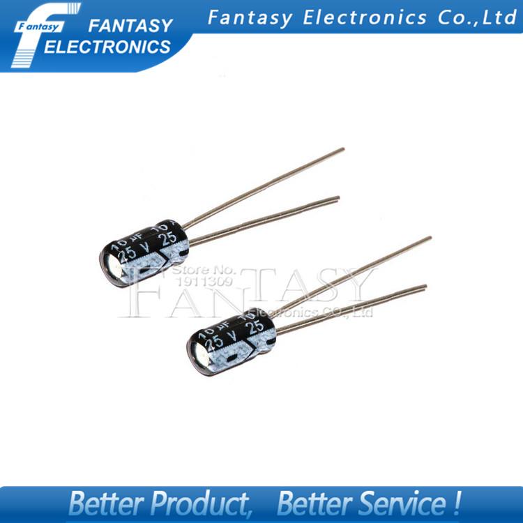 10UF 25V Electrolytic Capacitor