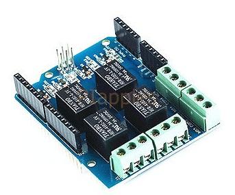 รีเลย์ 4 ช่อง มาตรฐาน 1PCS 4 Channel Relay 5V Shield Module For Arduino DIY Four Channel Relay Electr