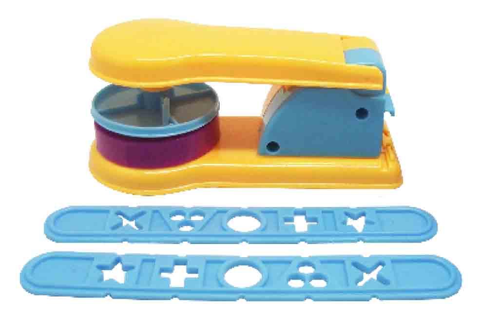 ชุดแม่พิมพ์แป้งโดว์แบบฉีด + แบบกด4 ชิ้น (Dough Machine)