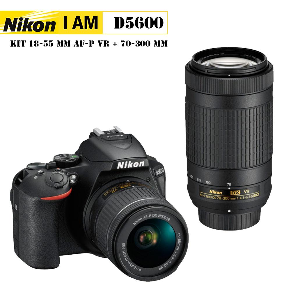 D5600+18-55 + AF-P 70-300 ED VR (ฟรี SD16GB)