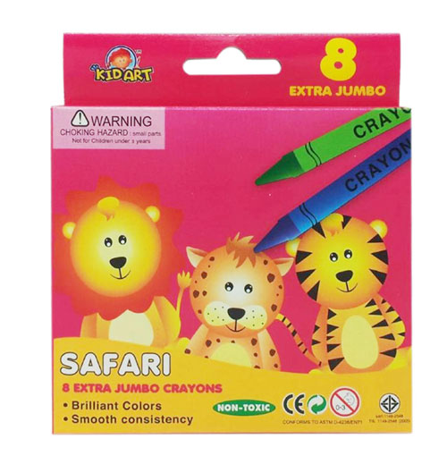 Kid Art Extra Jumbo Crayons