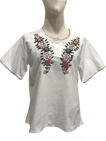 เสื้อวินเทจ เสื้อปักมือ ( MADE IN GUATEMALA )