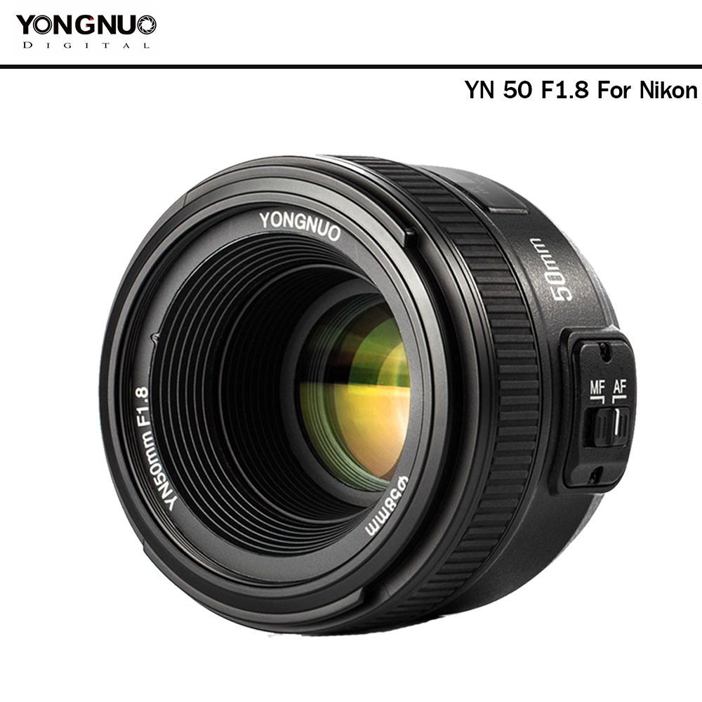 Yongnuo 50mm F1.8 (For Nikon)