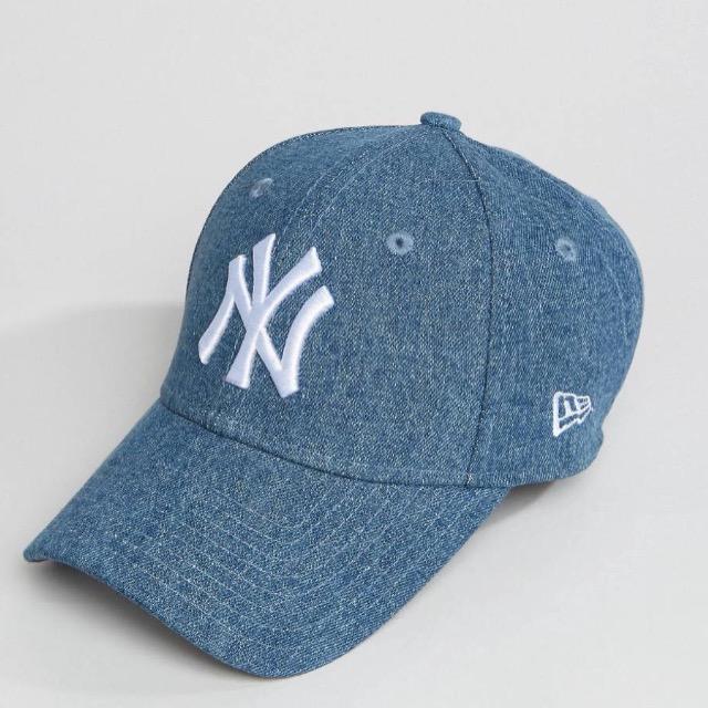 หมวก NEW ERA 9Forty Cap NY สียีนส์