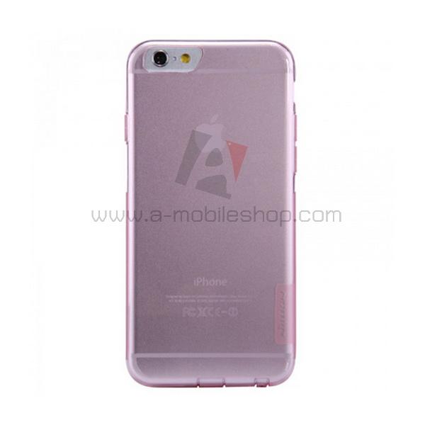 เคส iPhone 6/6s ยี่ห้อ Nature วัสดุ TPU สีชมพู
