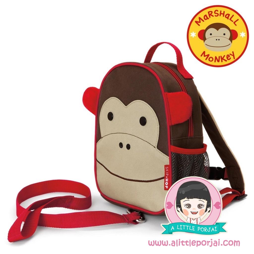 กระเป๋าเป้สายจูง ลายลิง