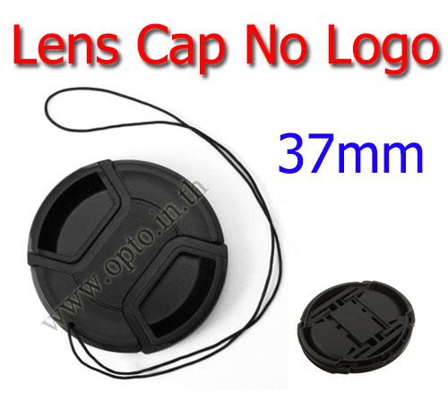 37mm. ฝาปิดหน้าเลนส์ไม่มีโลโก้สำหรับกล้อง Canon Nikon Sony Sigma Tamron