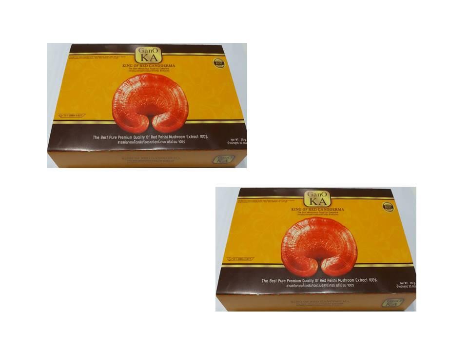 Gano เห็ดหลินจือแดงสกัดล้วน 100% GanO KA โปรโมชั่น 2 กล่อง
