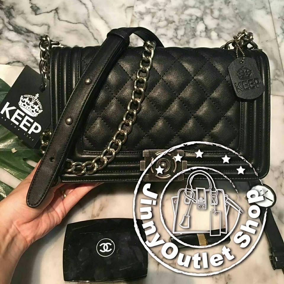 KEEP Shoulder Luxury Quited Bag
