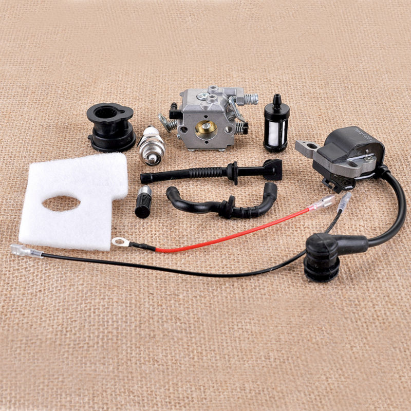 Carburetor Ignition Coil Sets For STIHL Chainsaws 017 018 MS170 MS180 Air/Fuel Filter Line New Garden Tool Spare parts