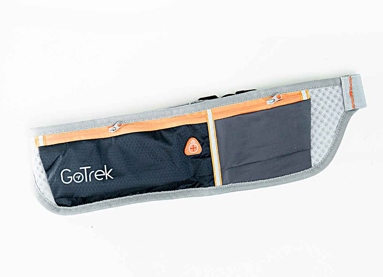 Gotrek B-01W กระเป๋าคาดเอว สีดำ