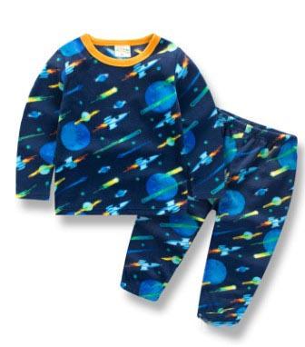 (SOLD OUT) W033 : Set 2 ชิ้น ชุดนอนแขนยาวลายกาแล็กซี + กางเกงขายาว