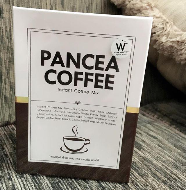 PANCEA COFFEE แพนเซีย คอฟฟี่ กาแฟลดน้ำหนัก สูตรเข้มข้น เร่งเผาผลาญไขมัน