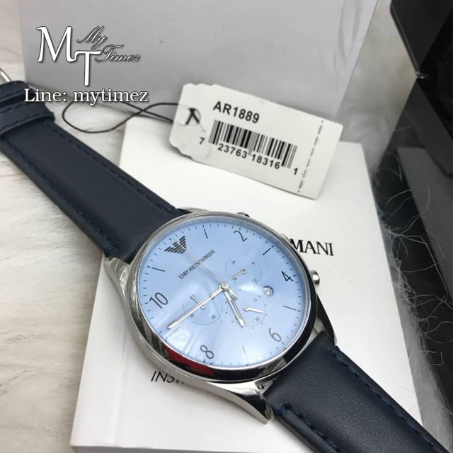 Armani Sport Men Watch Blue Dial AR1889