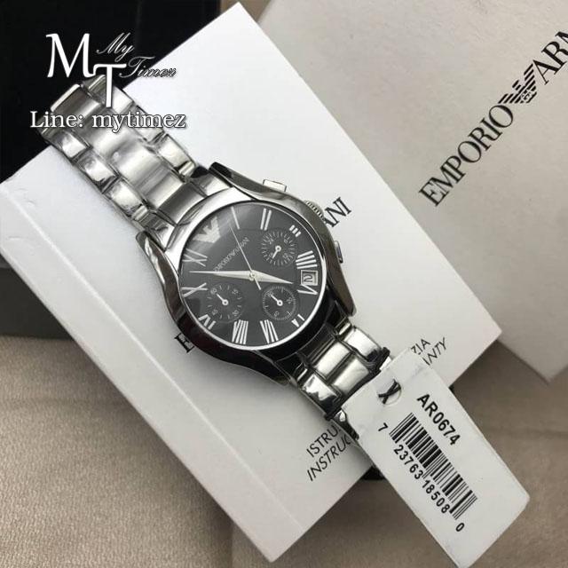 Emporio Armani Ladies Chronograph Watch AR0674