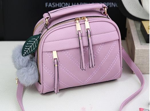 กระเป๋าสะพายข้าง Pretty bag (Violet)