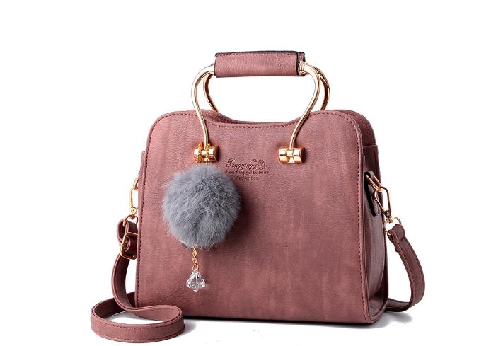 กระเป๋าถือ miner (purple pink)