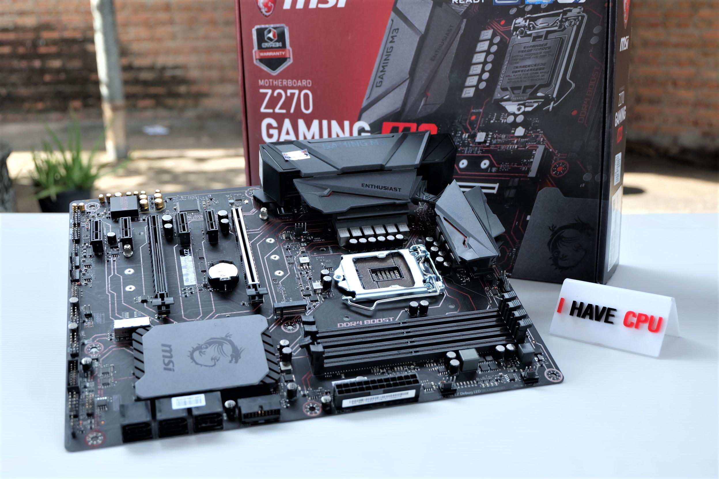 1151 MSI Z270 GAMING M3 DDR4