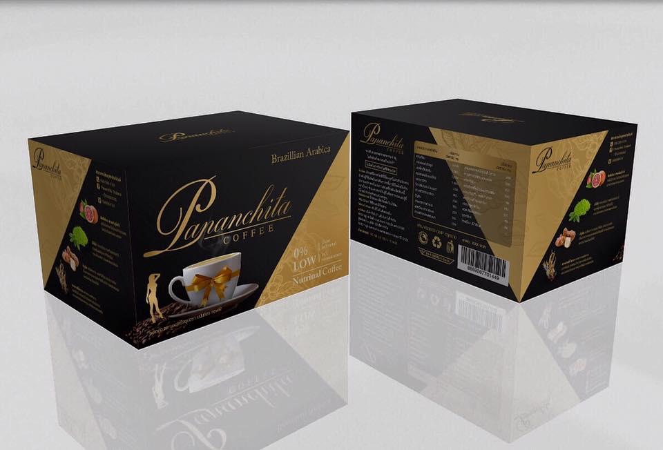 กาแฟ Pananchita Coffee หรือ กาแฟเพื่อสุขภาพ แบรนด์ Pananchita ผลิตจาก อาราบิก้าพรีเมี่ยม 100%