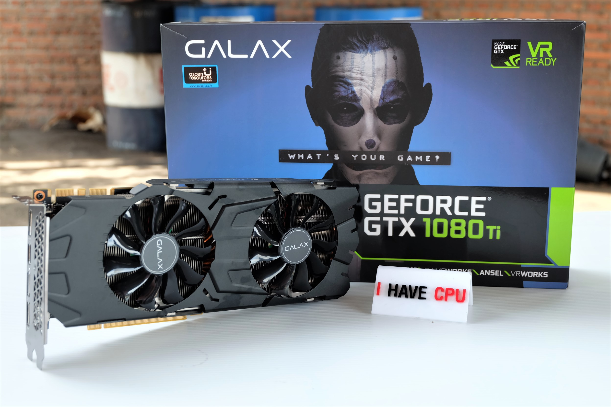 GALAX GTX 1080 Ti 11GB EXOC