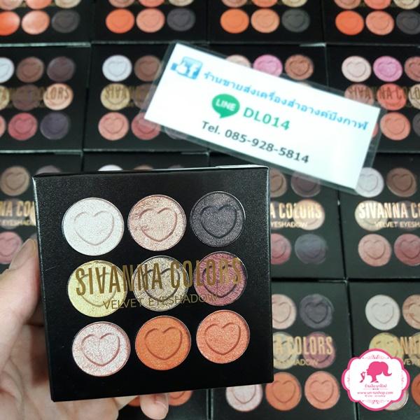 HF4002 Sivanna Colors Velvet Eyeshadow ซีเวียน่า อายแชโดว์ เนื้อครีม เนื้อแน่นติดทนนาน