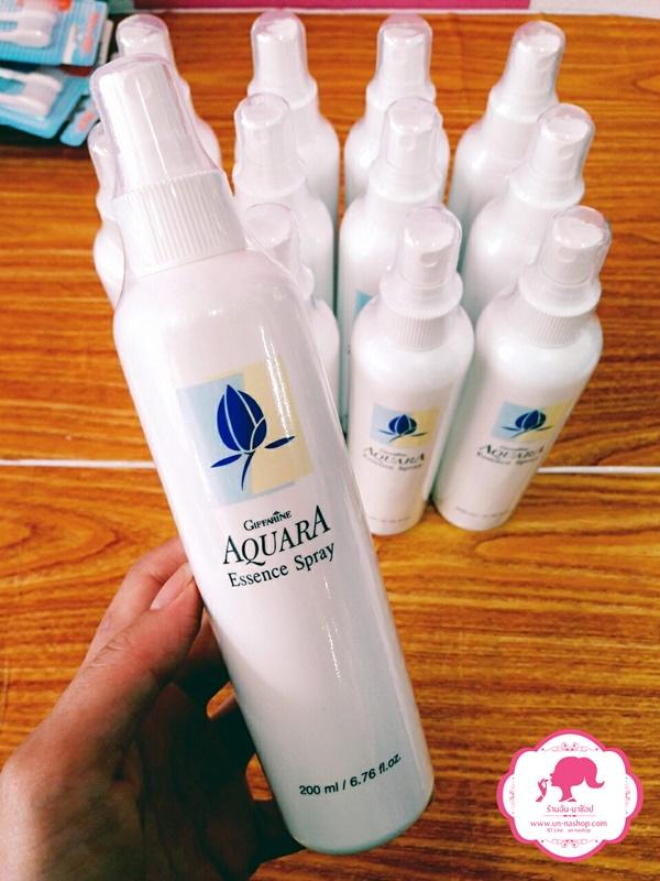 Giffarine Aquara Essence Spray / กิฟฟารีน สปรย์น้ำแร่ อควาร่า เพิ่มความสดชื่นเย็นสบายให้กับผิวหน้าได้ตลอดวันพร้อมบำรุงผิว