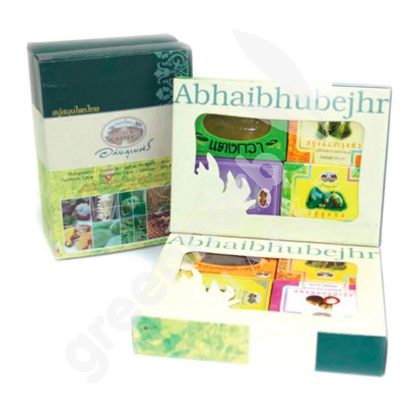 Herbal Soap Gift Box (8 Soaps) - Abhaiherb