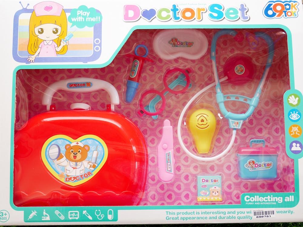 ของเล่นเด็ก ชุดอุปกรณ์คุณหมอ
