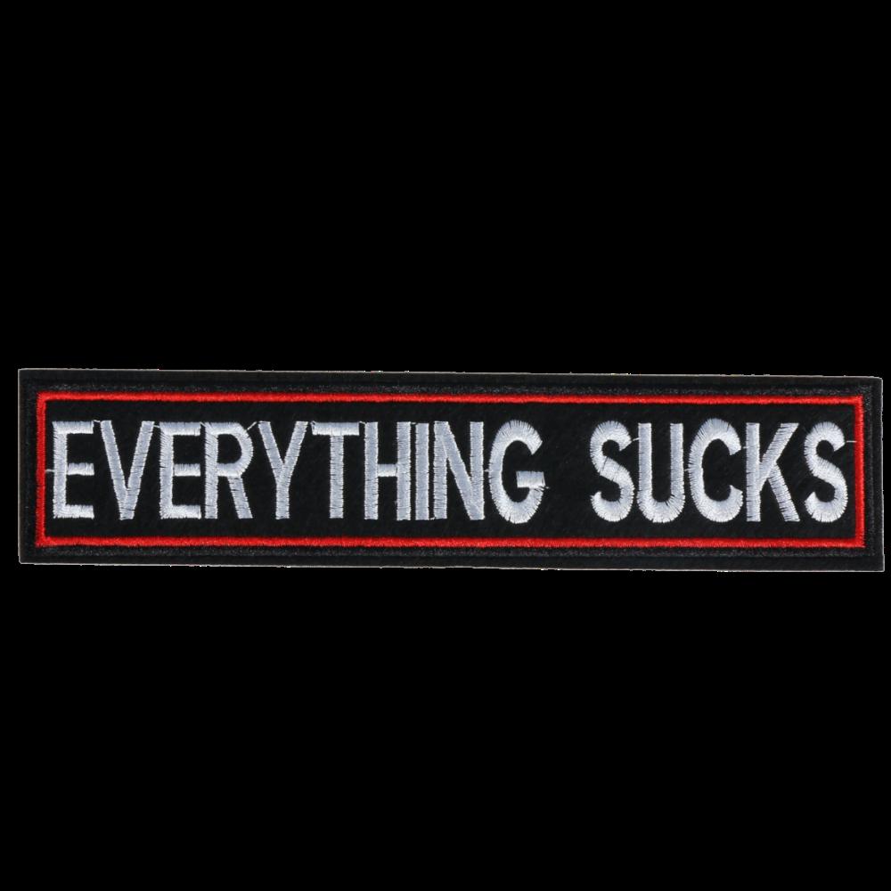 L0024 EVERYTHING SUCKS 20x5x4.5cm
