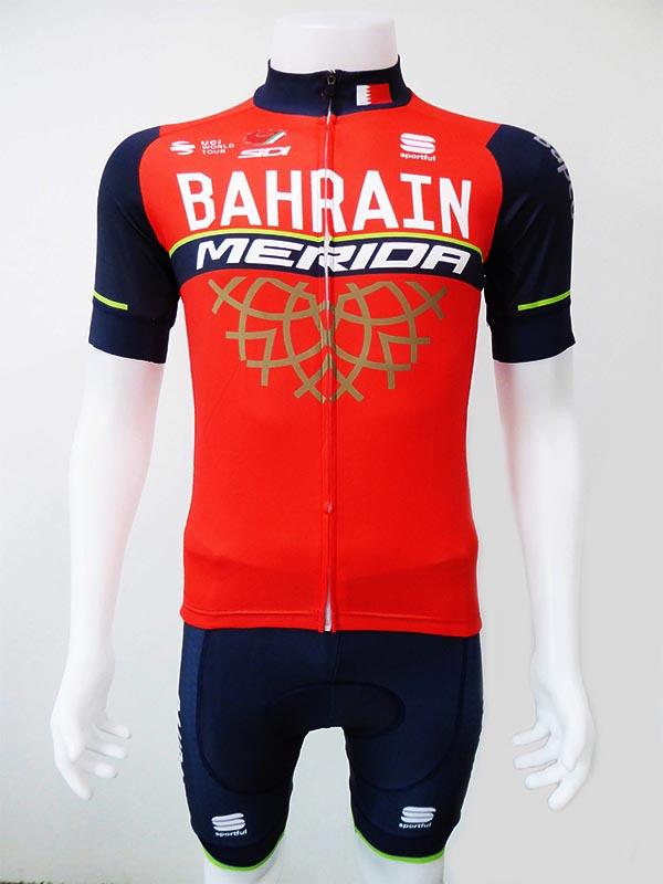 ชุดปั่นจักรยานสั้นปลายแขนและขาแบบเลเซอร์คัต Anti-Slip : XP170110