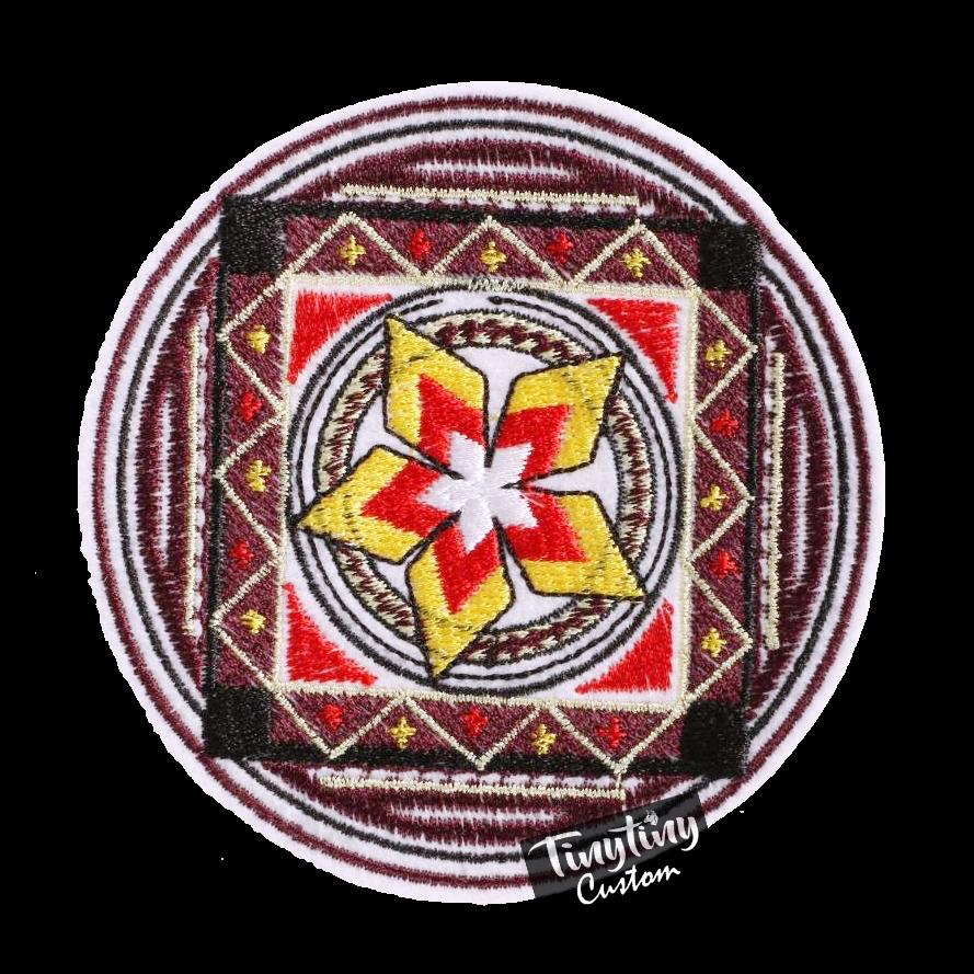 Custom Embroidered Art 2nd